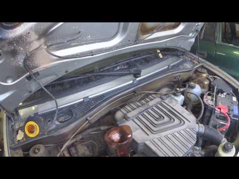 ЗАМЕНА МАСЛА в двигателе ЛАДА ЛАРГУС 1,6 8v, ДАЧА ЛОГАН, Shell Helix Ultra 5W 40