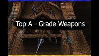 Топ A - Grade оружие (Где брать куски и рецепты)