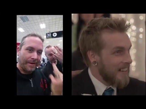 Chris' Metal Wedding Surprise