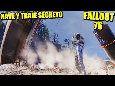 FALLOUT 76 - NAVE PROMETEUS, TRAJE ESPACIAL, DRAGÓN Y TEMPLO | Gameplay Español thumbnail