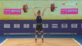 2017 European Weightlifting Championships Women 63 kg \ Тяжелая атлетика Чемпионат Европы [1080]