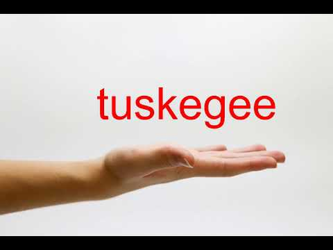 How to Pronounce tuskegee - American English
