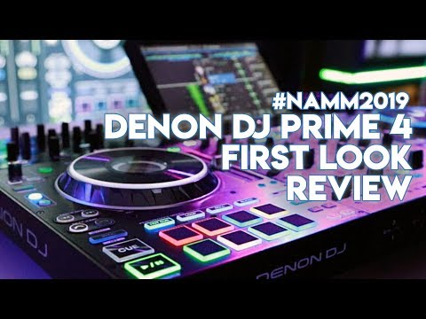 Denon DJ Prime 4 First Look Review - Works With Engine Prime & Serato DJ Pro - #NAMM2019