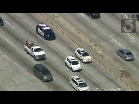 Los Angeles Persecucion policial 2017