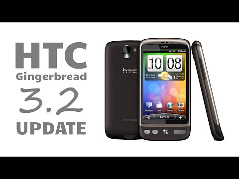 HTC Desire - Android 2 2 to 2 3 upgrade - YouTube