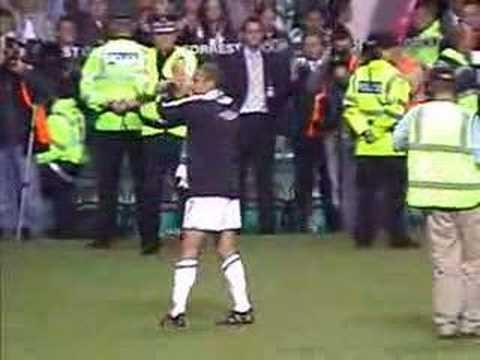 Henrik Larsson - Goodbye to the Celtic Fans