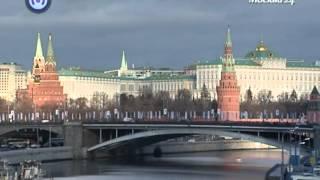 видео Карта высот Москвы