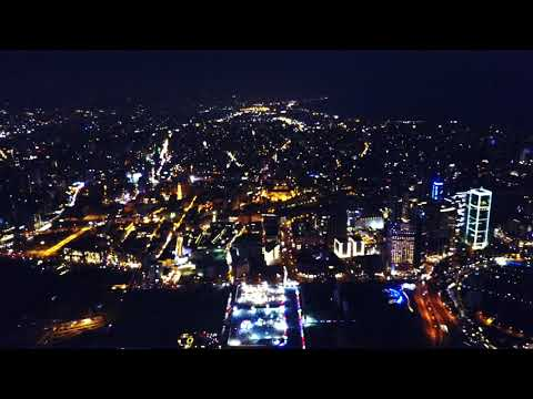 Beirut Waterfront Skyline: Drone Views of Beautiful Lebanon