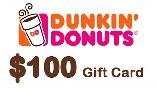Dunkin Donuts Coupons - Dunkin Donuts Printable Coupons