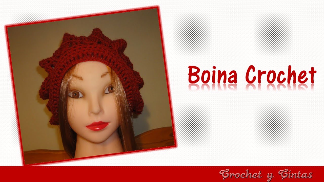 Boina crochet - ganchillo para mujeres - Parte 1 - YouTube eae26a46ac4