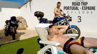 On réveil Balou au rupteur avec la Suzuki !   BLKMRKT [ Portugal Espagne: Episode 03]