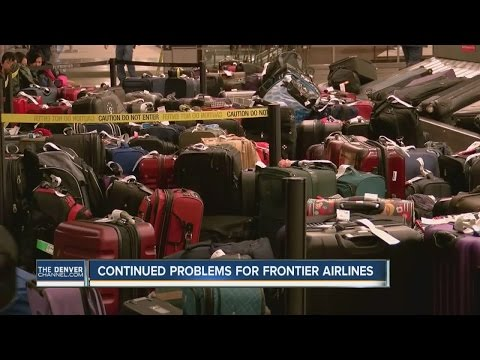 Continued problems for Frontier Airlines
