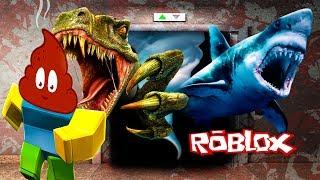 СУМАСШЕДШИЙ ЛИФТ в ROBLOX мы стали КАКАШКОЙ приключения мультяшного героя роблокс детское видео
