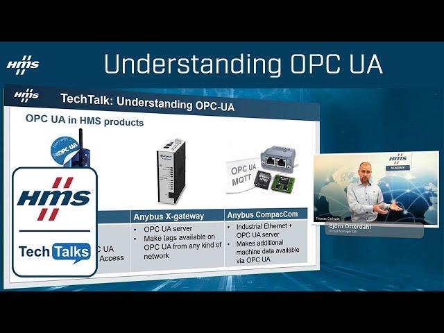 HMS TechTalk: Understanding OPC UA