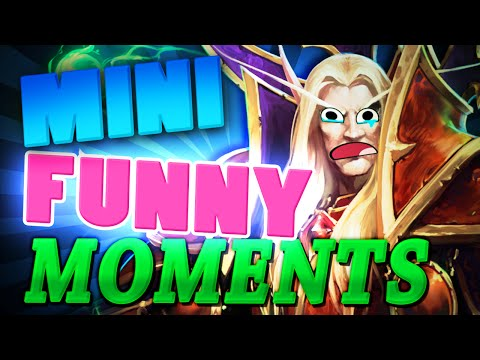Heroes of the Storm Mini Funny Moments #2   TGN Squadron   Funny HotS Gameplay Collection