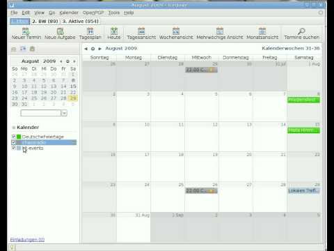 iCal sharing with wuala