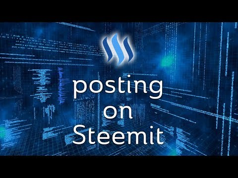 Posting on Steemit – Markdown, Images, Video, Formatting, Tags, Rewards, & More!