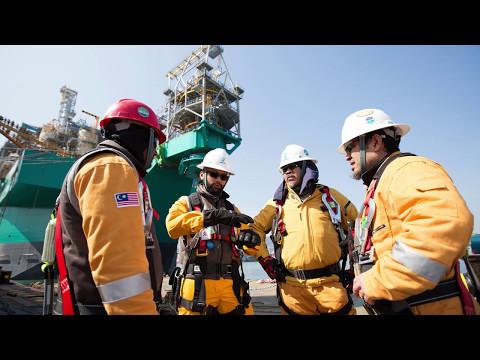 #PETRONAS FLNG SATU   World's First Floating LNG Facility