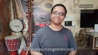 Music Lessons - Jaipur Sangeet Mahavidyalaya (Testimonial)