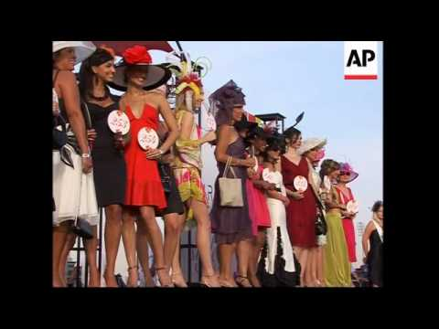 High Fashion At Richest Horse Race In The World