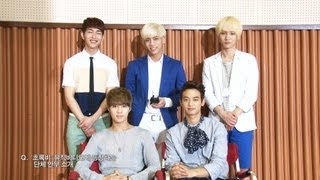 "SHINee 샤이니_Green Rain (From MBC Drama ""여왕의 교실"") MV Making film + Interview"