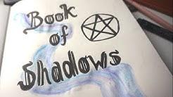 WITCHY DIY 🔮   Ich gestalte mein eigenes Zauberbuch! #01   Grimoire ✨Book of Shadows