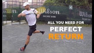 How To Hit Perfect Return Of Serve (TENFITMEN - Episode 77)