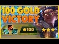 *CRAZY TFT GOLD STRATAGY* 100 GOLD WIN (ROOM TOUR) - BunnyFuFuu