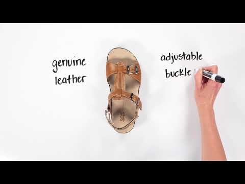 Video for Captiva T-Strap Sandal this will open in a new window