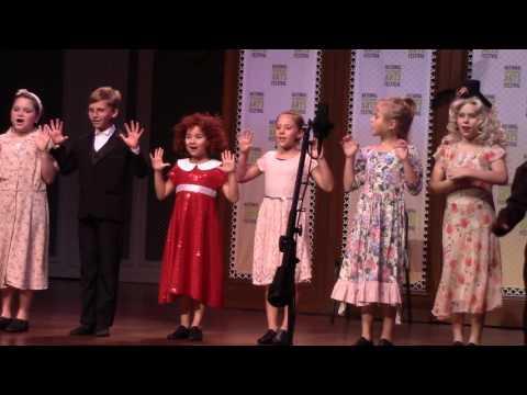 MCP Mini Troupe   Annie Jr   Feb 2017   National Performing Arts Festival