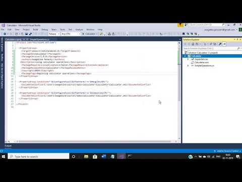 Steps to create .NET nugget package (.NET Standard Library)