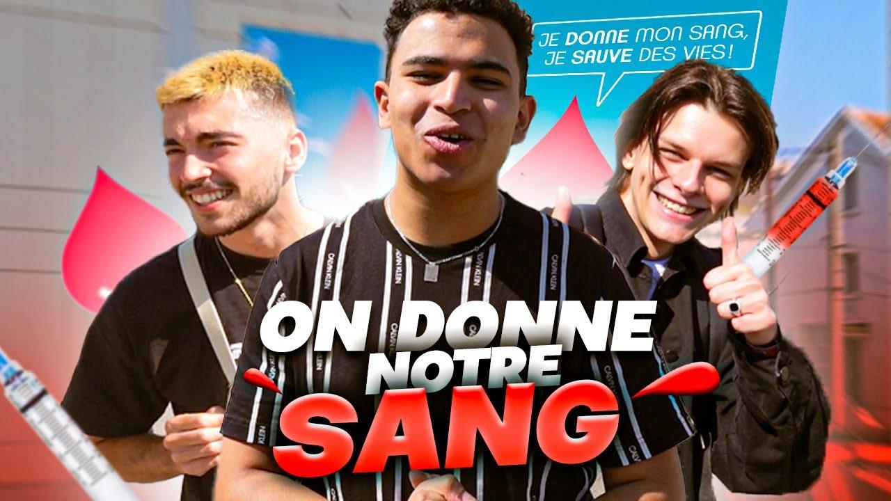 J'AMÈNE DES ABONNÉS DONNER LEUR SANG (Don Du Sang)