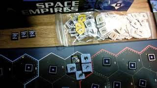 Late to the game- Space Empires- short solo game set-up
