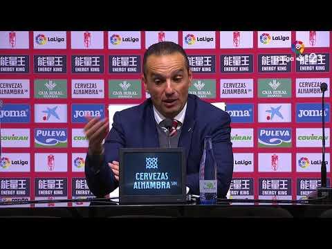Rueda de prensa de José Luis Oltra tras el Granada CF vs Real Zaragoza (2-1)