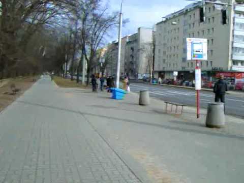 Warsaw tram stops : Berezynska