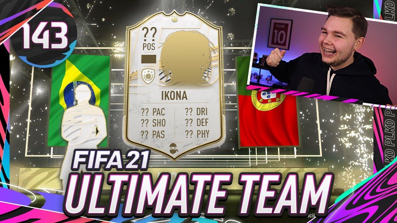 PACZKA Z IKONĄ ZA SWAPY!! - FIFA 21 Ultimate Team [#143]