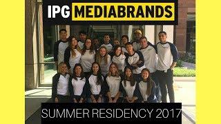 IPG Mediabrands Residency Summer 2017