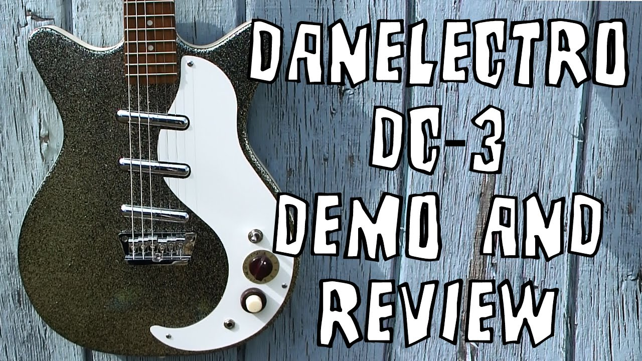 Danelectro DC-3 Electric Guitar Demo & Review on
