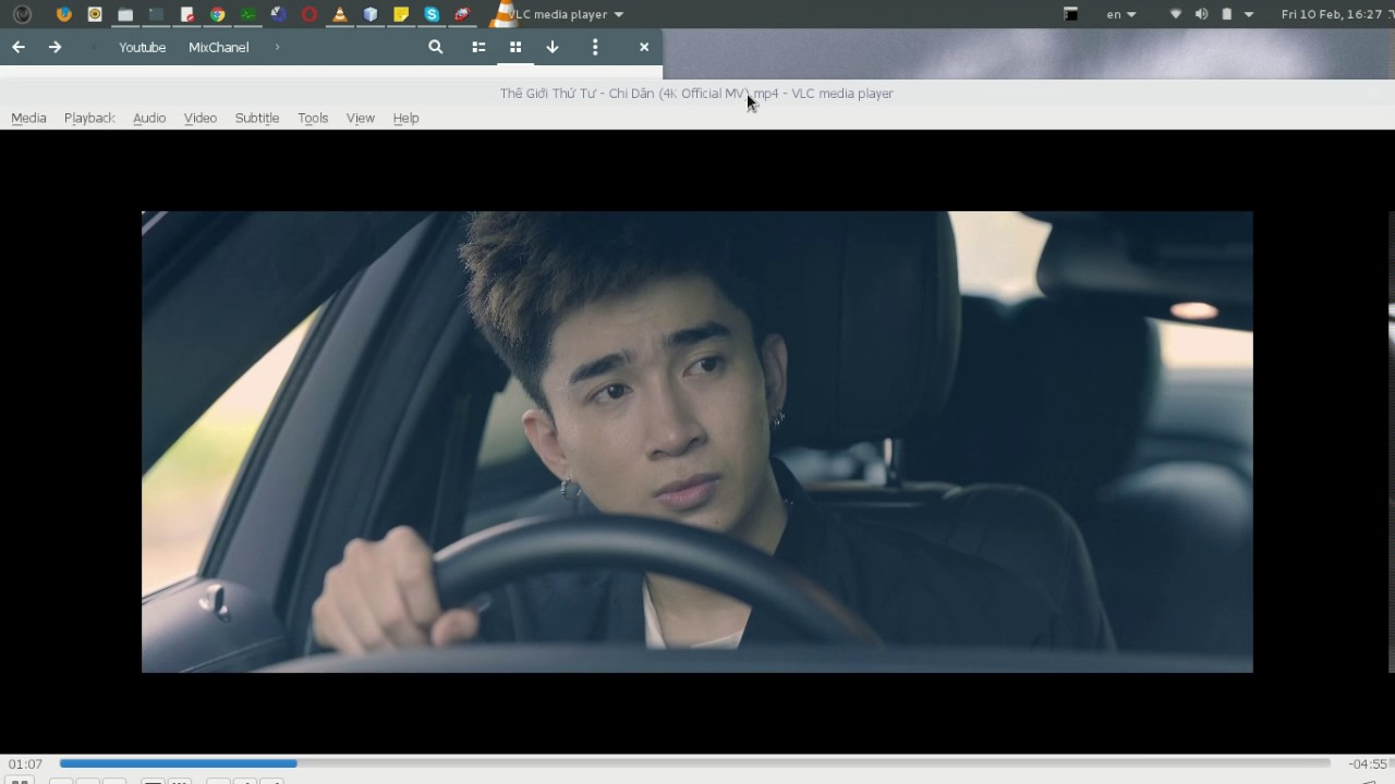 FIX VLC VIEW VIDEO 4K HALF SCREEN