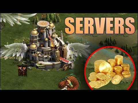 Clash Of Kings : MOD SERVERS CON ORO INFINITO
