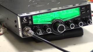 Cobra 29LXEU, UK/EU (CE-Multi) 80-channel CB Radio (Mobile) - On The Air Test