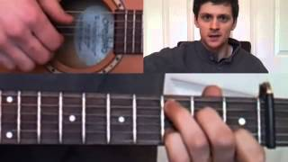 How To Play River Flows In You On Guitar arranged by Sunga Jung) (guitar lesson   tutorial) Part 4