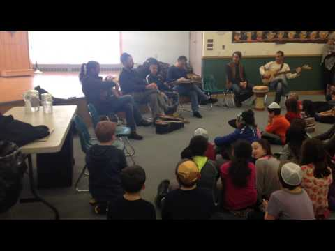 Diwan Saz Workshop at Cohen Hillel Academy