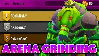 MMEG : GRINDING FOR RANK 1 IN MY LEAGUE !