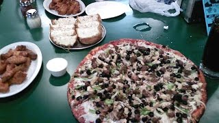 Food Challenge: Big League Challenge (8 lb) at Stadium Pizza | FreakEating in Wildomar