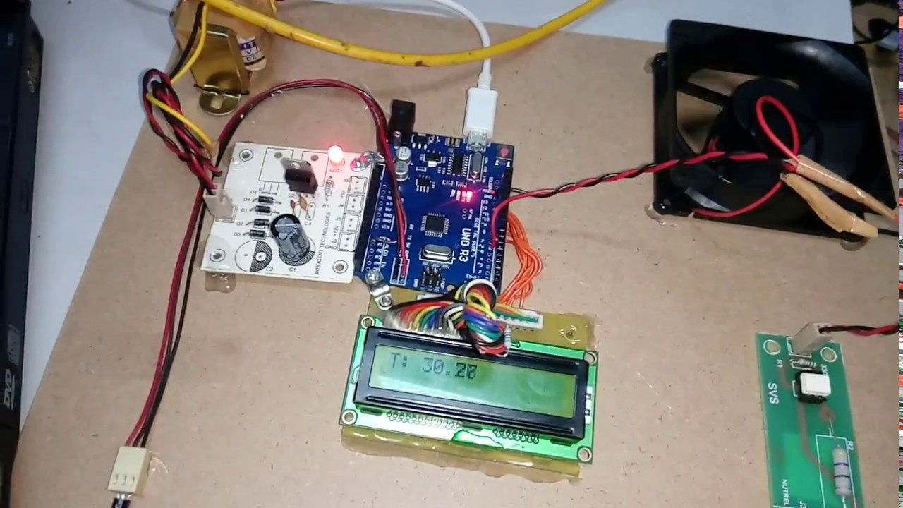 Temperature Based Fan Speed Control And Monitoring Using Arduino Controlled Triac For A An Scr Flipflop