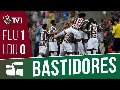 FluTV - Bastidores - Fluminense 1 x 0 LDU-EQU - Copa Sul-Americana