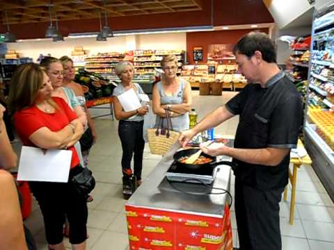 Demostraci n de cocina en el supersol de almonte parte 1 for Youtube videos de cocina