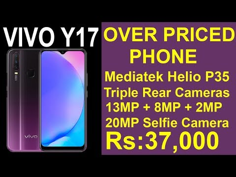 vivo-y17-over-priced-phone-|-triple-rear-cameras-|-20mp-selfie-camera-|-rs:37,000-|