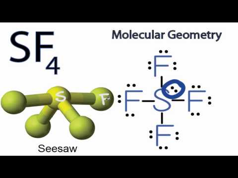 Is the molecule SF_4 polar or non polar? + Example